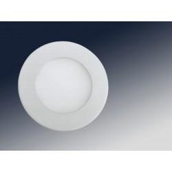FOCO RDO +LED 6W LUZ BLANCA