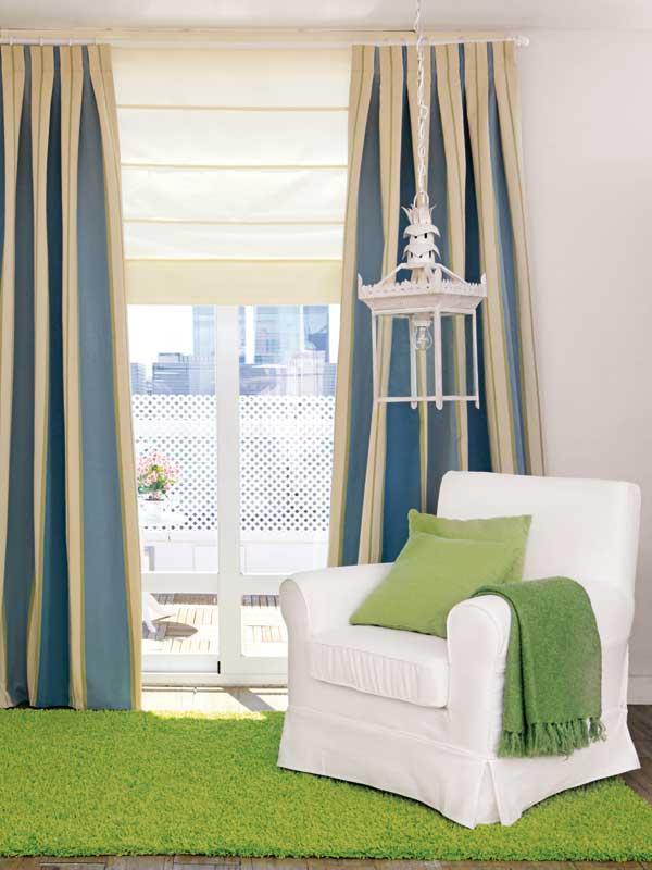 Combinar estores y cortinas free los estores japoneses - Combinar cortinas y estores ...